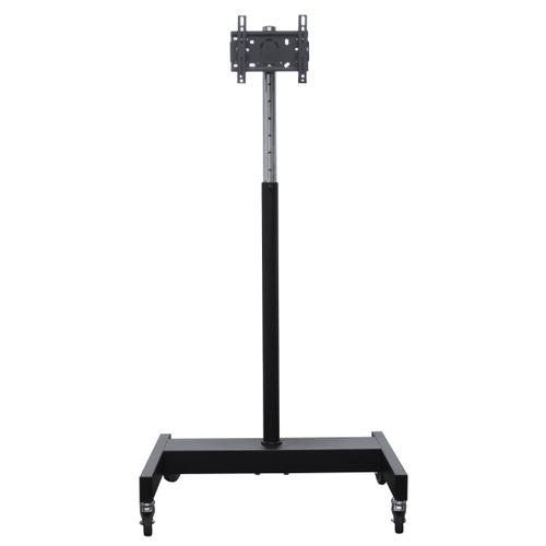 Фото - Стойка ElectricLight МСТ-9 черный/хромированный стол письменный мастер милан 3 глянец дуб молочный серый мст сдм 03 мс гл