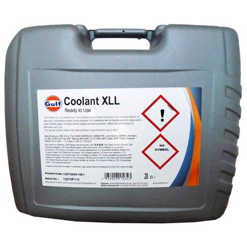 цена на Антифриз Gulf Coolant XLL 20 л