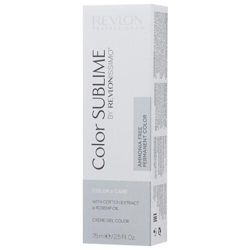 Revlon Professional Revlonissimo Color Sublime стойкая краска для волос, 75 мл, 6.41 темный блонд медно-пепельный