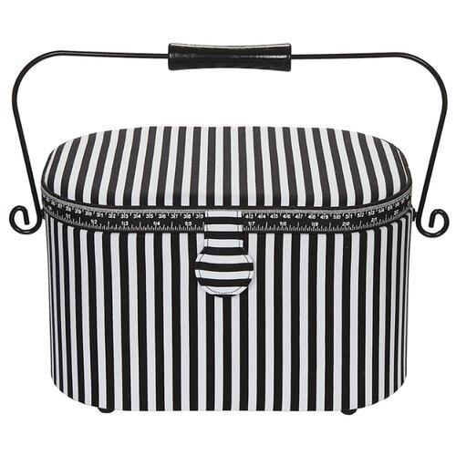 Купить Шкатулка Prym для рукоделия 30х20.5х19 Stripes classic, Шкатулки для рукоделия