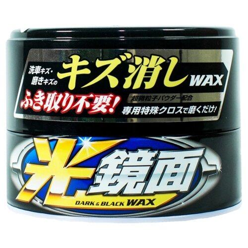 цена на Воск для автомобиля Soft99 Scratch Clear 00420 для автомобилей черного и темных цветов 0.2 кг