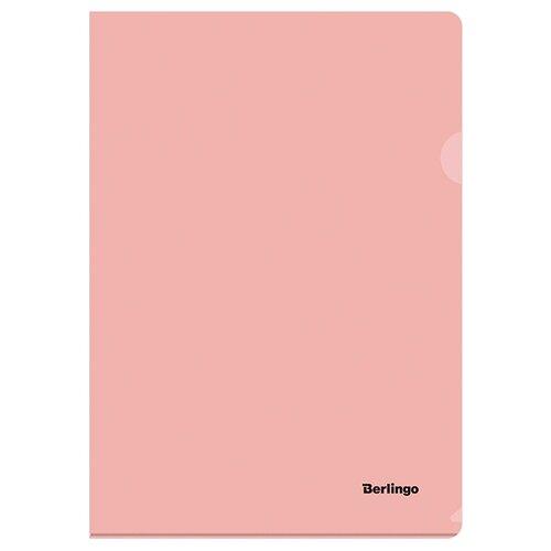 Berlingo Папка-уголок Instinct А4, пластик фламинго недорого