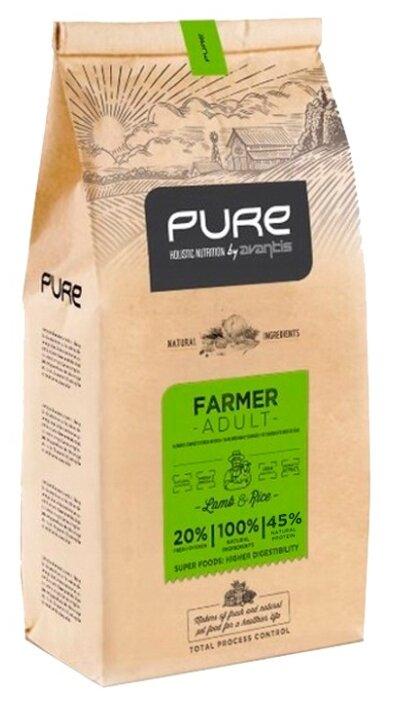 Корм для собак Pure ягненок с рисом 2 кг