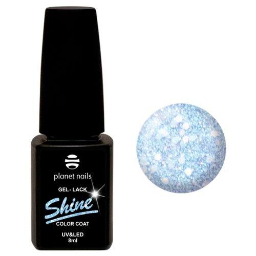 Гель-лак planet nails Shine, 8 мл, оттенок 870