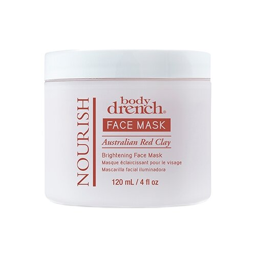 Body Drench Осветляющая маска Face Mask Nourish Australian Red Clay Brightening, 120 мл nuckily outdoor cycling windproof warm fleece face mask red black