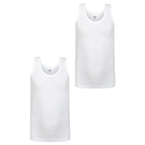 Купить Майка BAYKAR 2 шт., размер 170/176, белый, Белье и купальники