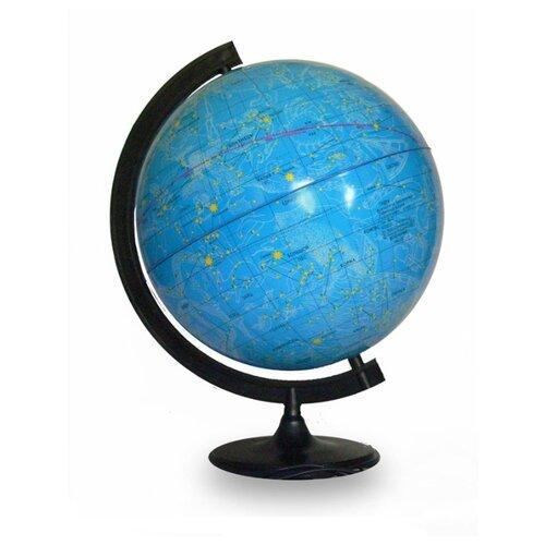 Фото - Глобус звездного неба Глобусный мир 320 мм (10064) черный глобус физический глобусный мир 250 мм 10160 бирюзовый