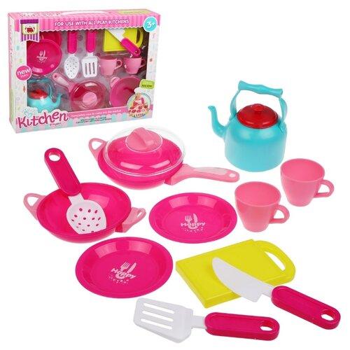 Набор посуды Наша игрушка 999-2 разноцветный