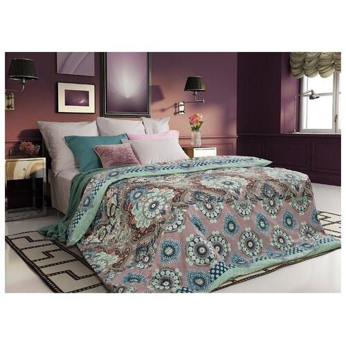 Постельное белье евростандарт Sova & Javoronok Ловец снов 50х70 см, сатин розовый/зеленый