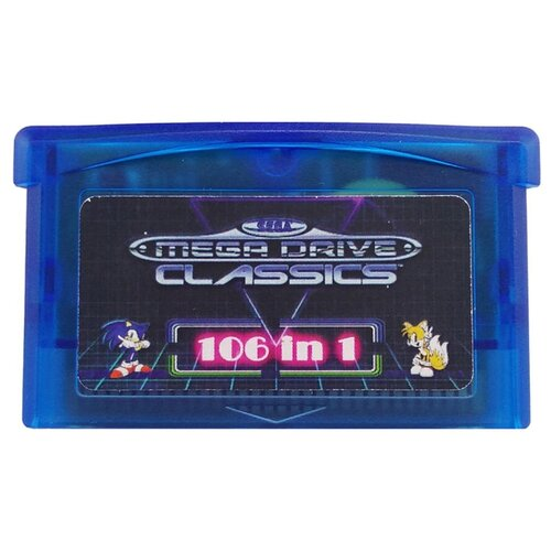 Картридж MyPads 106in1 игр для игровой приставки GBA Game Boy Advance