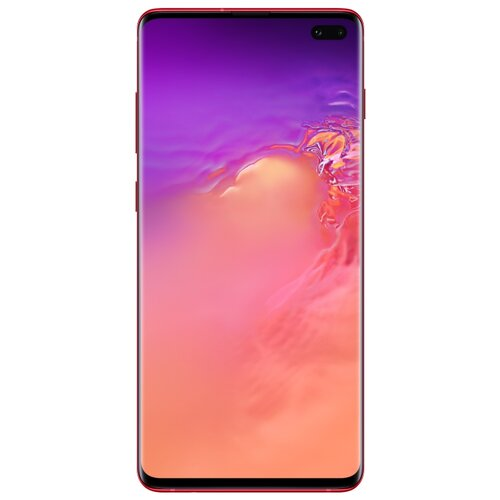 Смартфон Samsung Galaxy S10+ 8/128GB гранат (SM-G975FZRDSER) смартфон samsung galaxy s10 128 гб гранатовый sm g975fzrdser
