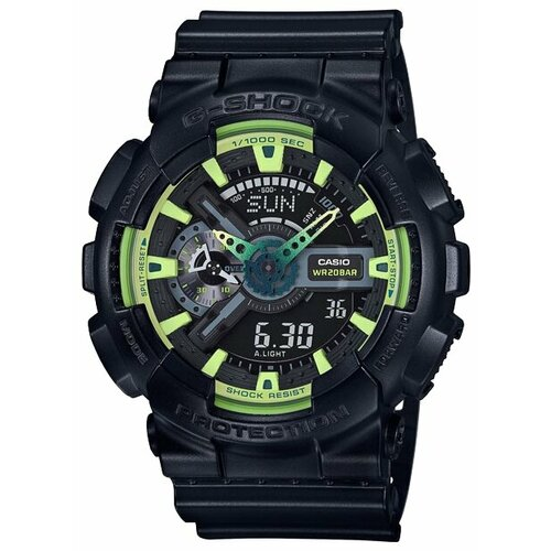 цена Наручные часы CASIO GA-110LY-1A онлайн в 2017 году