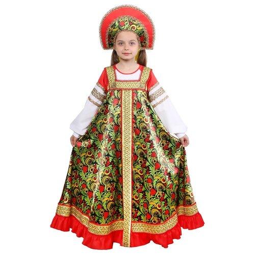 Купить Костюм Страна Карнавалия Рябинушка (4443096-4443101), разноцветный, размер 146, Карнавальные костюмы