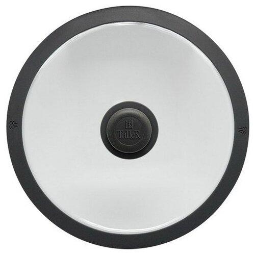 Крышка Taller TR-8003 (24 см) прозрачный / черный