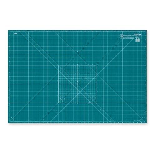 Купить Мат раскройный двусторонний, толщина 2 мм, 92 х 61 см/ 36 х 24 Olfa CM-A1, Инструменты и аксессуары