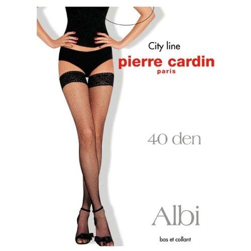 Чулки Pierre Cardin Albi 40 den, размер IV-L, visone (бежевый) колготки pierre cardin laval 40 den размер iv l visone бежевый