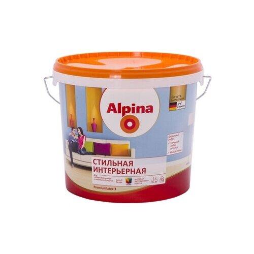 Краска Alpina Стильная интерьерная матовая 5 л Alpina   фото