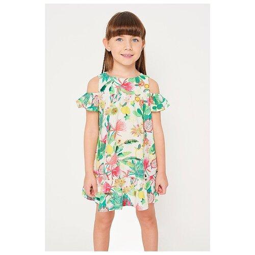 Купить Платье INFUNT размер 110, цветной, Платья и сарафаны