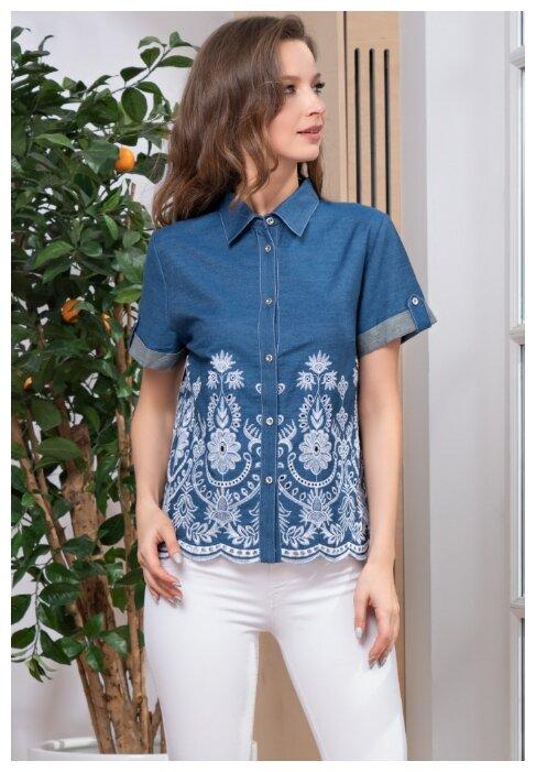 Купить Рубашка Montana Цвет: Синий (S) по низкой цене с доставкой из Яндекс.Маркета