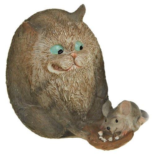 Фото - Статуэтка ENS Кошки-мышки, 7x8x8 см коричневый статуэтка ens романтика 8 5 см прозрачный