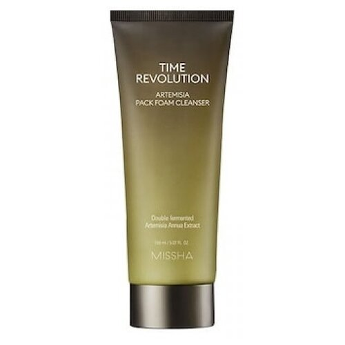 Missha пенка-маска для лица очищающая Time Revolution Artemisia Pack Foam Cleanser, 150 мл недорого