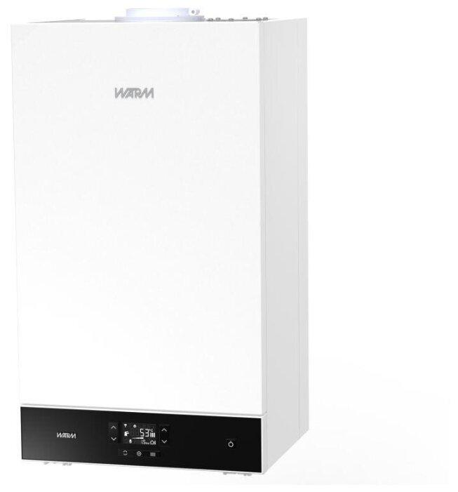 Конвекционный газовый котел WARM AUROS KA11224, 24 кВт, двухконтурный фото 1