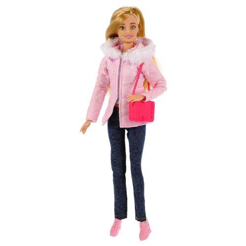 Фото - Кукла Карапуз София в джинсах и пуховике, 29 см, 99172-1-S-AN кукла карапуз софия повар 29 см