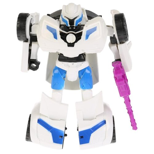 Купить Трансформер Технодрайв Роботрон 1709L185-R белый/синий, Роботы и трансформеры