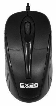 Мышь EXEQ MM-302 Black USB