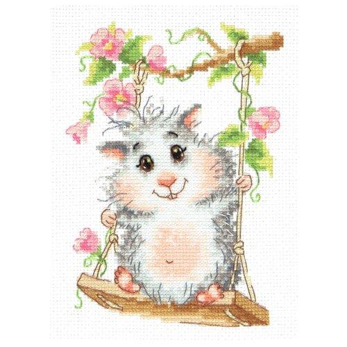 Купить Чудесная Игла Набор для вышивания На качельках 12 x 17 см (19-13), Наборы для вышивания