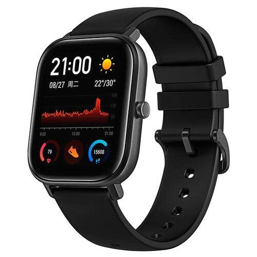 Умные часы c GPS Amazfit GTS черный