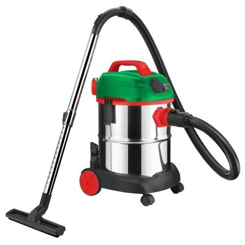 Профессиональный пылесос Status ALS1021SF 1400 Вт серебристый/зеленый/черный