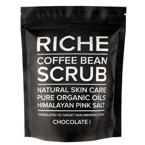 RICHE Кофейный скраб для тела Chocolate, 250 г riche кофейный скраб для тела pure beans 250 г