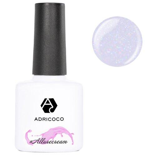 Гель-лак для ногтей ADRICOCO #Allurecream, 8 мл, 09 камуфлирующий сиреневый с шиммером  - Купить