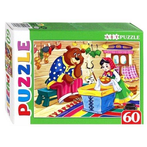 Купить Пазл Рыжий кот Artpuzzle Машенька и медведь (ПА-4531), 60 дет., Пазлы