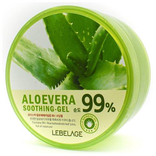 Гель для тела Lebelage Aloe Vera 99% Soothing Gel универсальный с экстрактом алоэ, 300 мл