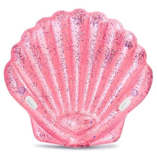Кресло Intex Морская ракушка 165x178 см розовый