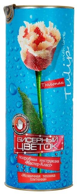 Danko Toys Набор для бисероплетения Бисерный Цветок. Тюльпан БЦ-02