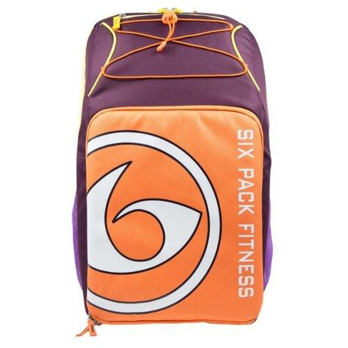Six Pack Fitness Рюкзак Pursuit Backpack 500 фиолетовый/оранжевый/желтый 38 л