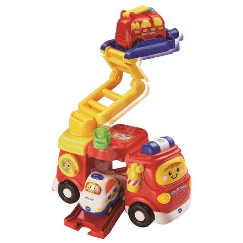 Интерактивная развивающая игрушка VTech Большая пожарная машина красный пожарная машина наша игрушка пожарная машина красный zy437287