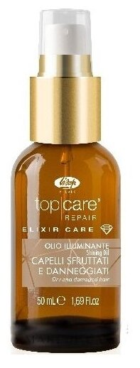 Lisap TOP CARE ELIXIR Масло-эликсир увлажняющее для блеска волос