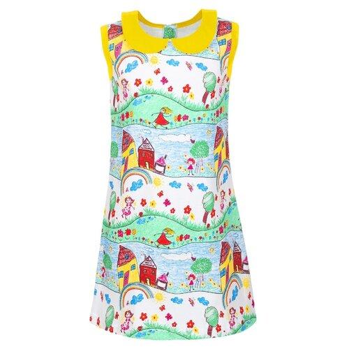 Купить Платье M&D размер 116, желтый, Платья и сарафаны