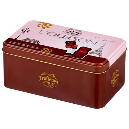 Маршмеллоу Truffettes de France в форме мишек в молочном шоколаде 250 г зефир truffettes de france в