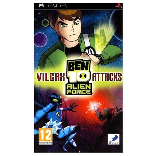 Игра для PlayStation Portable Ben 10: Alien Force - Vilgax Attacks