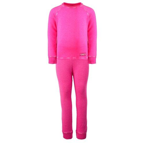 Фото - Комплект термобелья playToday Active Kids Girls 32022040, размер 110, фуксия футболка playtoday размер 110 фуксия