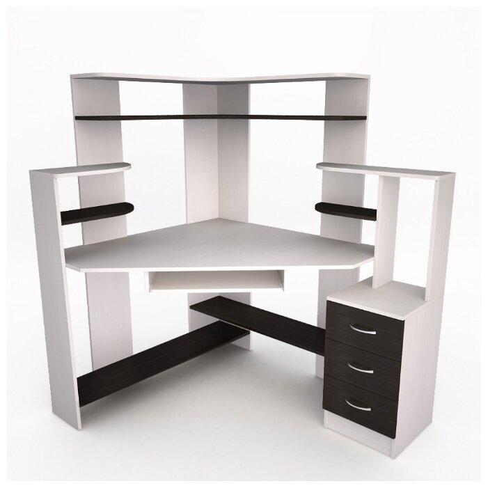Компьютерный стол угловой Комфорт Лекс-11