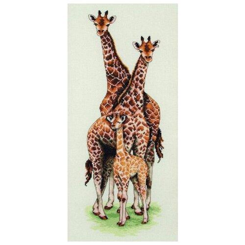 Купить Anchor Набор для вышивания Семья жирафов 47 х 14 см (PCE740), Наборы для вышивания