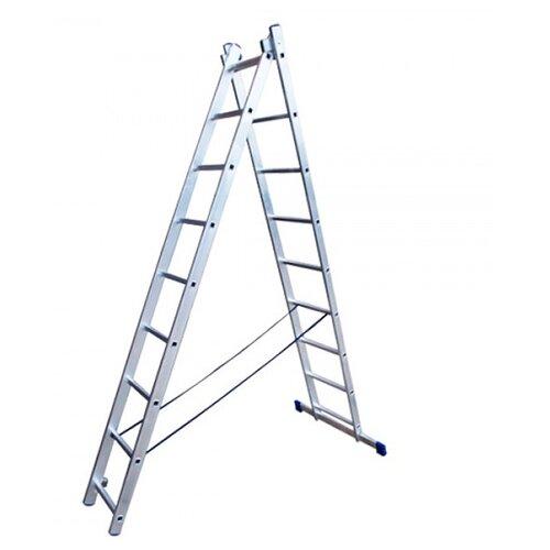 Лестница трансформер 2-секционная HITT H4209
