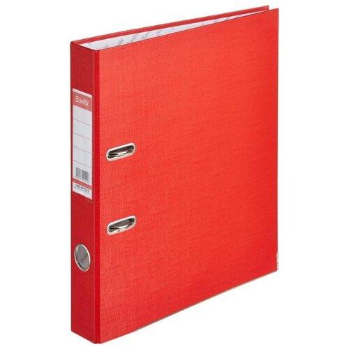 Купить Bantex Папка-регистратор Economy Plus A4, бумвинил, 50 мм красный, Файлы и папки