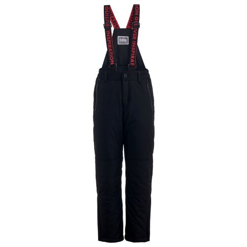 Купить Полукомбинезон Gulliver 21912BJC6701 размер 158, черный, Полукомбинезоны и брюки